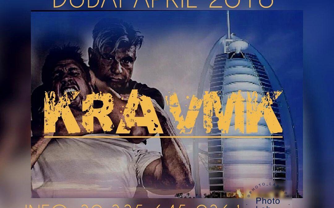 KRAV MAGA DUBAI APRIL 2018