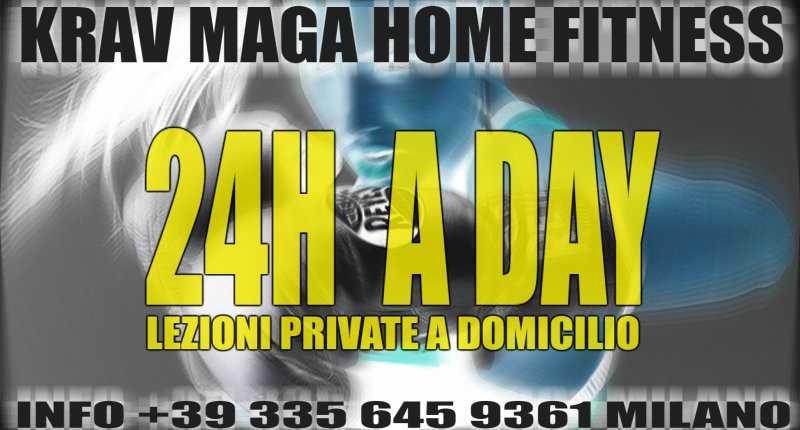 FITNESS KRAV MAGA LEZIONI A DOMICILIO A MILANO  24H JASON +39  335 645 9361