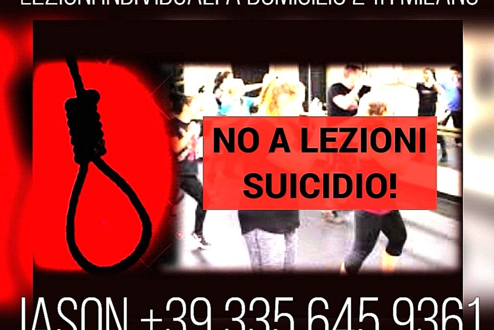 KRAV MAGA NO A LEZIONI DI GRUPPO SUICIDIO!! JASON +39 335 645 9361 MILANO 24H A DOMICILIO