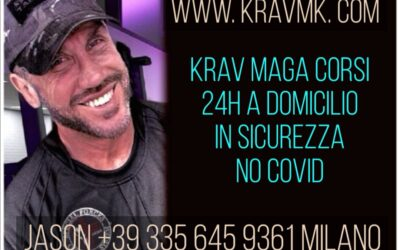KRAV MAGA MILANO CORSI NO COVID – JASON +39 335 645 9361  A DOMICILIO 24H