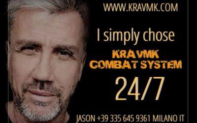 Perché ho scelto KRAVMK COMBAT SYSTEM – JASON +39 335 645 9361 MILANO 24H